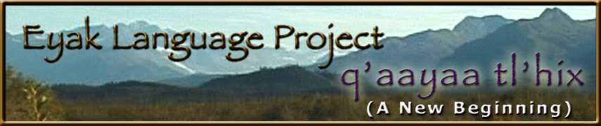 Eyak Language Project