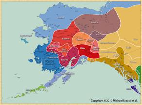 Indigenous Peoples and Languages of Alaska [map]