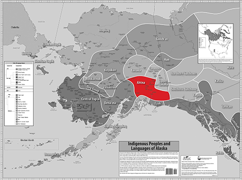 Indigenous Language Map - Ahtna