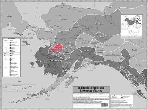 Indigenous Language Map - Dena'ina