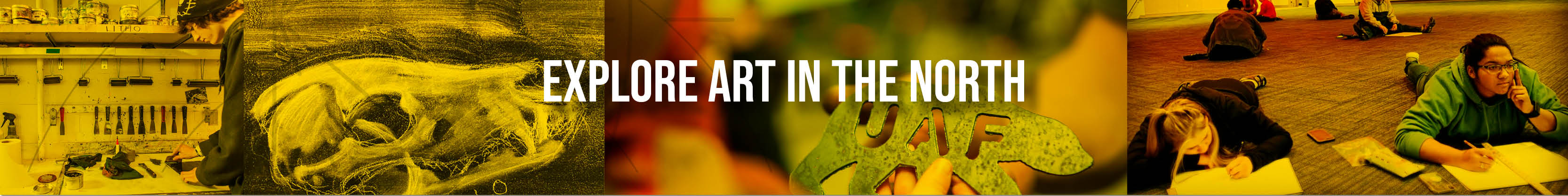 Explore the boundaries of your creativity. Study Art in the North.