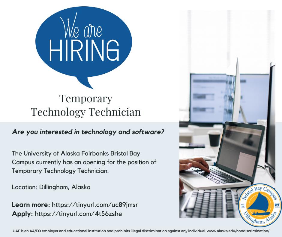 Temporary Technology Technician