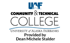 UAF CTC provided by Dean Stalder logo