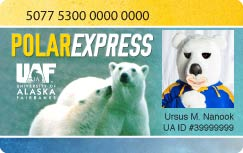 PolarExpress card sample