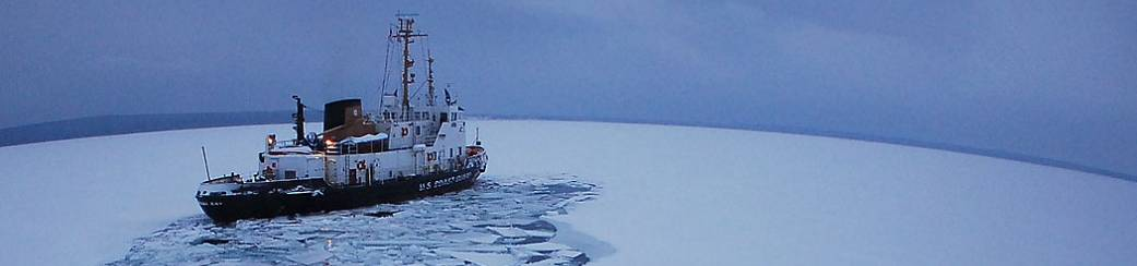 Katmai CG Ice Breaker on the Great Lakes