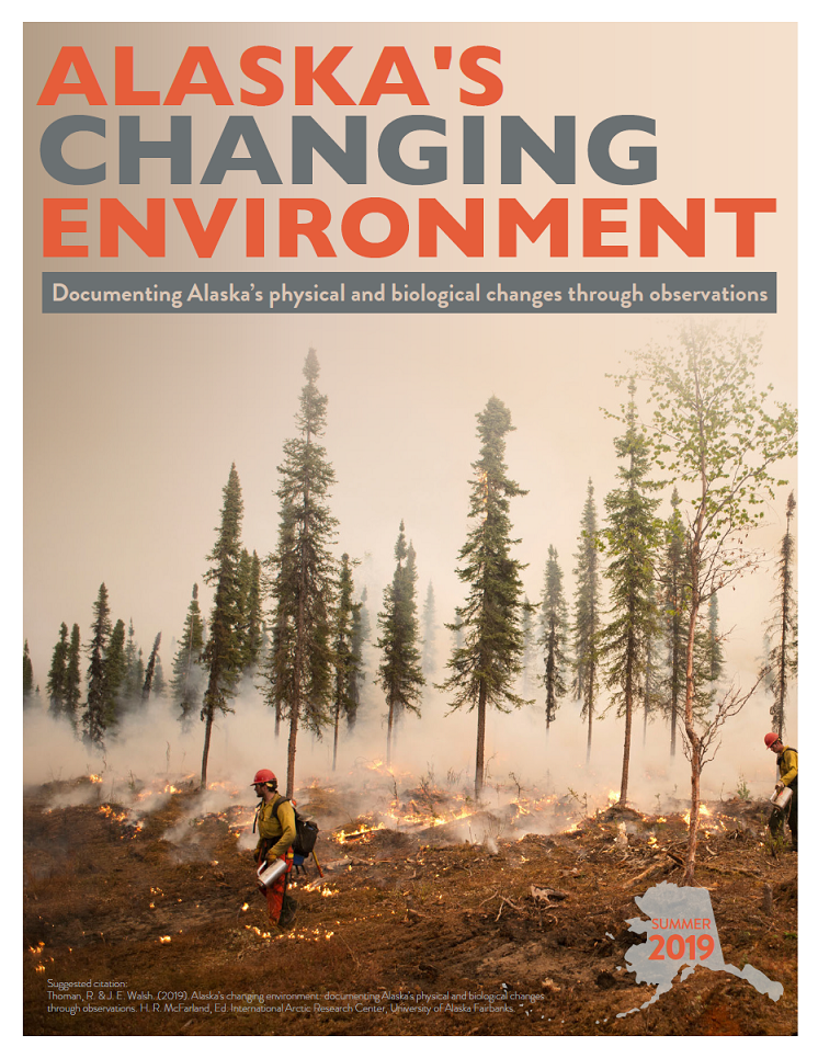 Alaska's Changing Environment publication cover