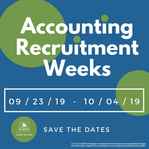 Accounting Recruitment Weeks