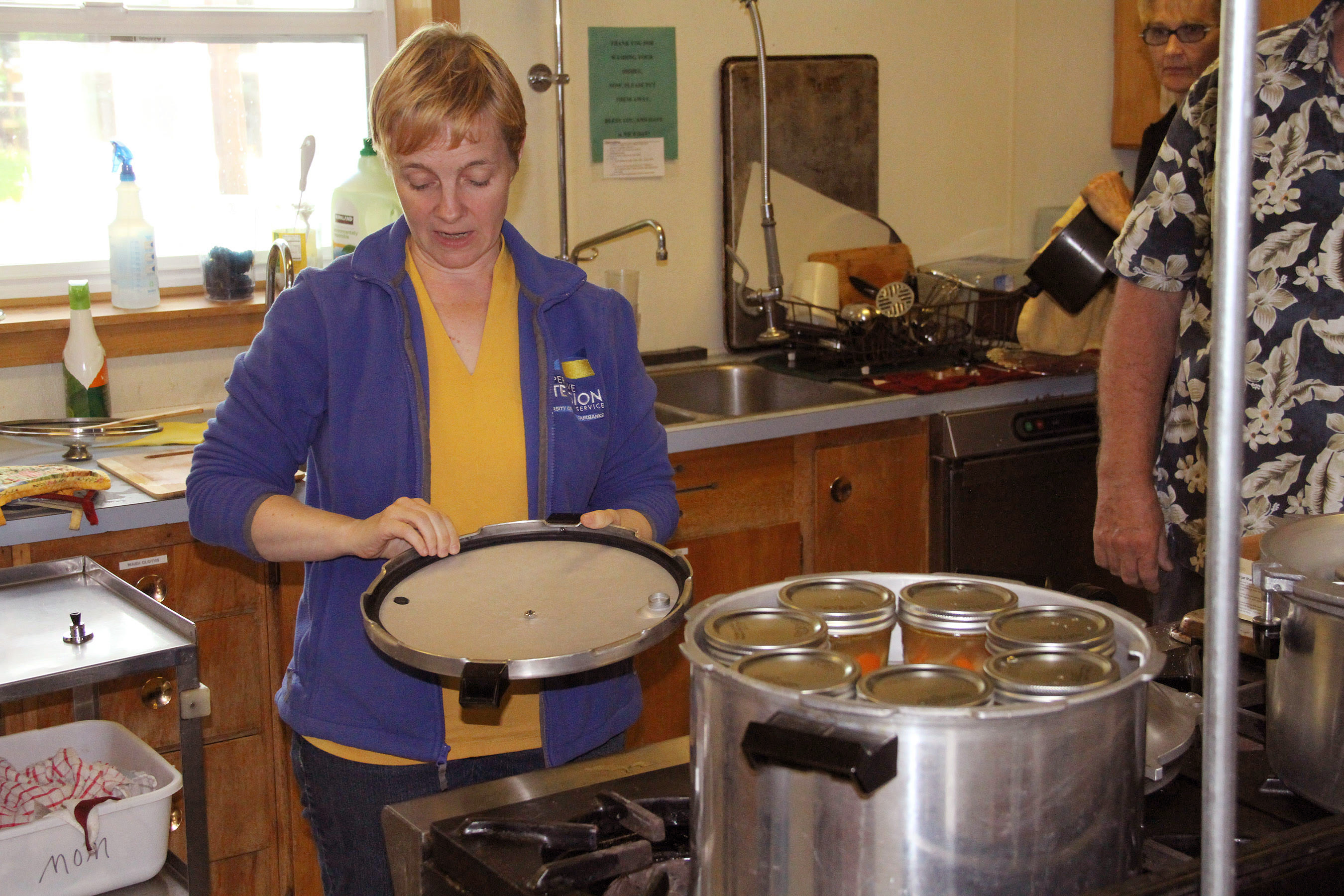 Sarah Lewis teachings about pressure canning