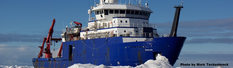 The Sikuliaq. Photo by Mark Teckenbrock.
