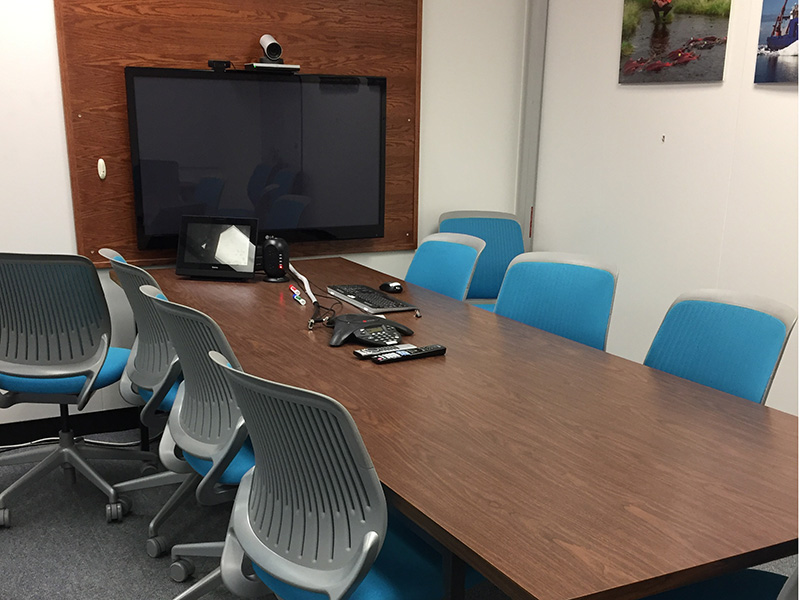 245 ONL (Fishbowl) | 10 people | videoconference room