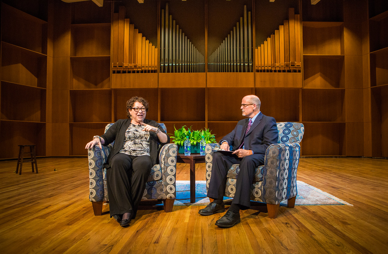 Supreme Court Justice Sotomayor lecture in the UAF Charles Davis Concert Hall