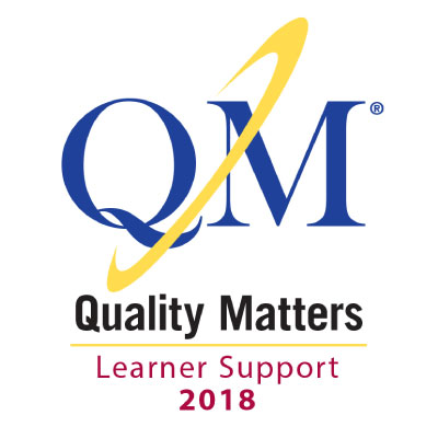 Quality Matters badge