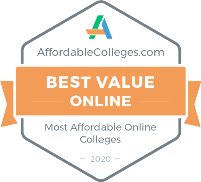 AffordableColleges.com badge