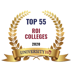 Top 555 ROI Colleges badge