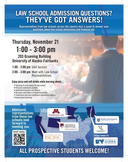 Law School Panel Flyer