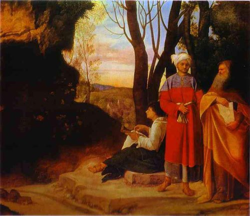 """Three Philosophers,"" Giorgione"