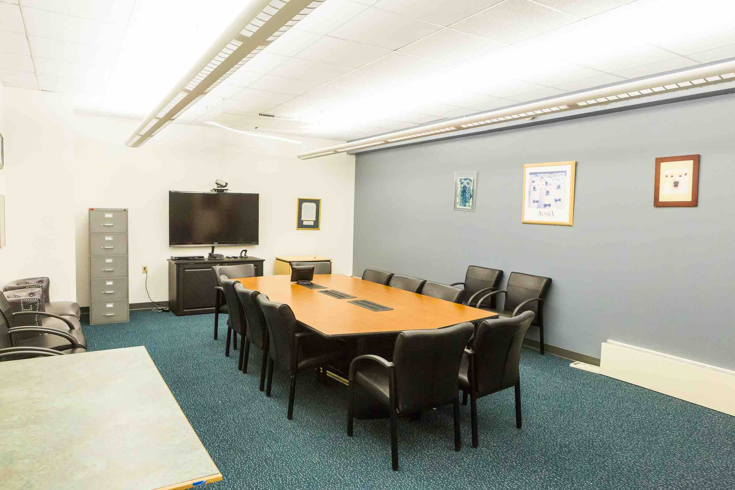 Hess Rec Center conference and meeting room