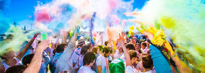 UAF color run