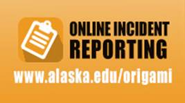 Online reporting logo