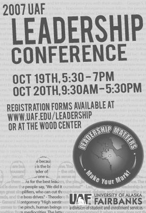 2007 conference flier