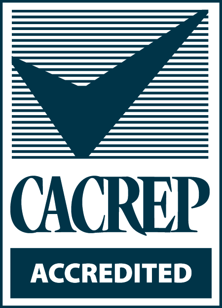 CACREP accreditation badge