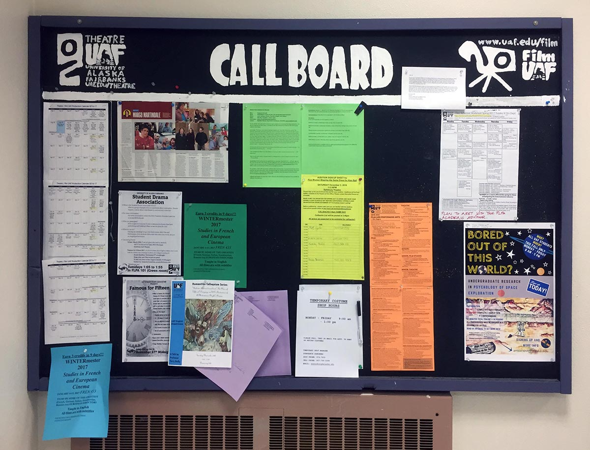 Image of the Callboard