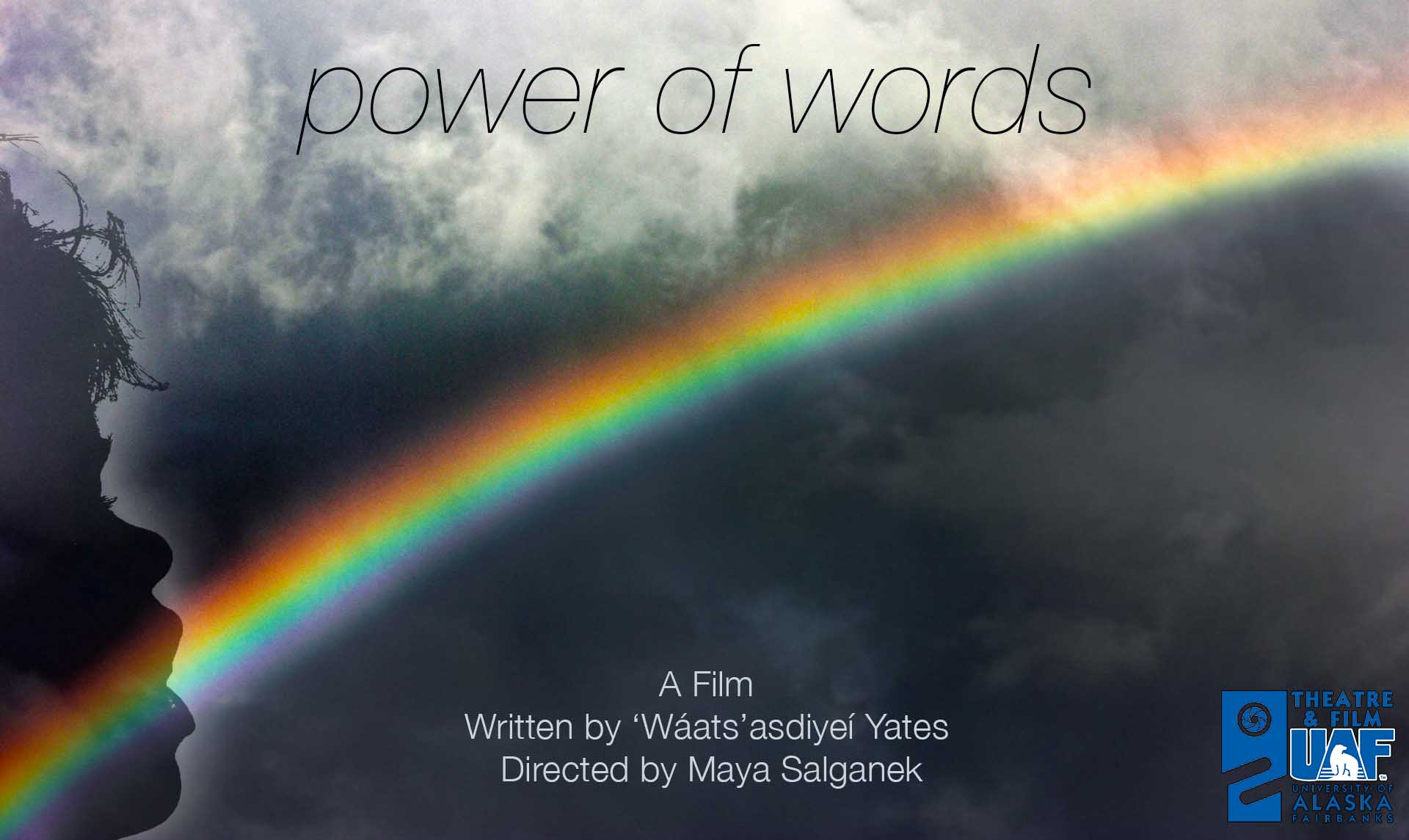 Power of Words Film in Production