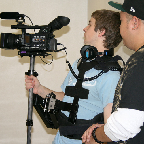 Learning to use a Steadicam