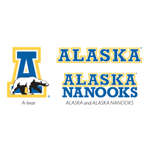 Alaska Nanooks athletic logo example